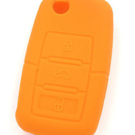 COQUE CLE PILP CLE GOLF VOLKSWAGEN TOUREG JETTA  NEW BEETLE GOLF  ORANGE
