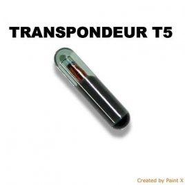 TRANSPONDEUR ANTIDEMARRAGE T5 CRYSTAL POUR CITROEN