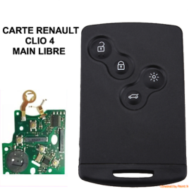 CARTE COMPLETE RENAULT CLIO 4 CAPTURE