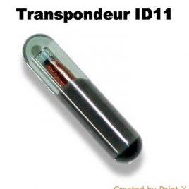 TRANSPONDEUR ANTIDEMARRAGE ID11 FIAT