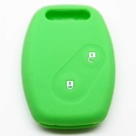 COQUE HOUSSE SILICONE VERT CLE HONDA JAZZ CIVIC ACCORD CRV FRV HRV