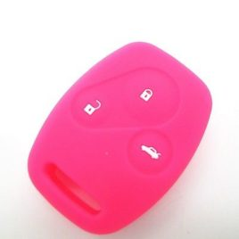 COQUE HOUSSE SILICONE ROSE CLE HONDA ACCORS CIVIC CR-V FR-V