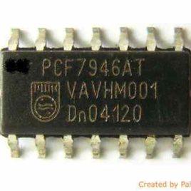 TRANSPONDEUR ANTIDEMARRAGE PCF7930 ID33 POUR LAND ROVER
