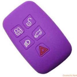 COQUE HOUSSE SILICONE LAND ROVER RANGE ROVER VIOLET