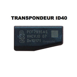 TRANSPONDEUR ANTIDEMARRAGE PCF7935 ID40 POUR OPEL