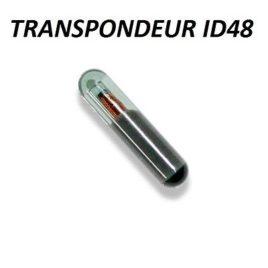 TRANSPONDEUR ANTIDEMARRAGE ID48 POUR OPEL