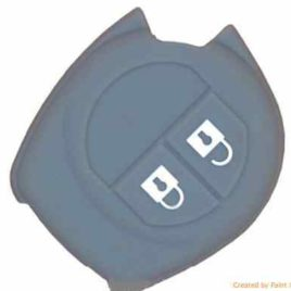 COQUE SILICONE GRIS CLE PILP OPEL AGILA