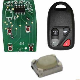 4 BOUTONS SWITCH COQUE CLE PILP MAZDA