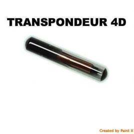 TRANSPONDEUR ANTIDEMARRAGE 4D POUR CHEVROLET