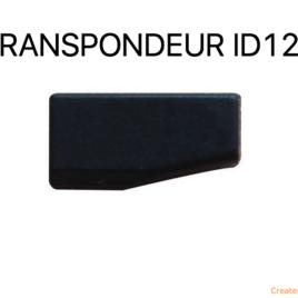 TRANSPONDEUR ANTIDEMARRAGE ID12 CARBONE  POUR MERCEDES
